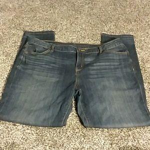 Simply Vera Vera Wang Skinny, Medium Wash Jeans